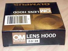 OLYMPUS OM ZUIKO 24mm F2 LENS HOOD NEW IN BOX