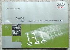 AUDI A6 Car Instruction Owner's Manual Handbook May 1996 #971 561 4A0 20
