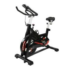 Exercise Bike Fitness Machine Stationary Monitor Home Cardio Workout Equipment