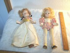 Two old Hard Plastic dolls