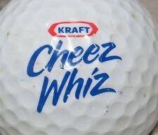 (1) KRAFT CHEEZE WHIZ LOGO GOLF BALL