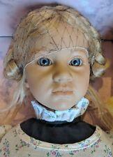 Ellen doll by Annette Himstedt Barefoot children series 1986 Nib Box & Coa