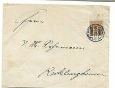 Brief aus Mülheim nach Recklinghausen 1898