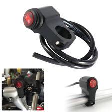Aluminum Quad ATV Pit Bike Handlebar LED Switch Rocker Button Universal Spiffy