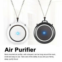 Air Purifier Portable Negative Ion Necklace Hanging Neck Portable Mini Home ONY