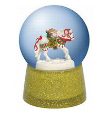 Trail of Painted Ponies POLAR EXPRESS HORSE WATER GLOBE, New In Box