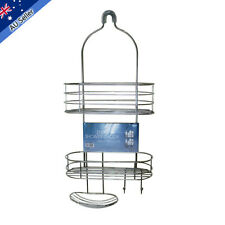 New 2 Tier Shower Caddy Bathroom Accessories Rack Chrome Bath Shelf Tier Storage