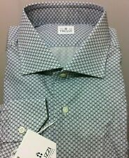 Truzzi Milano Luxury beautiful shirt 17.5/44, XL NWT$450