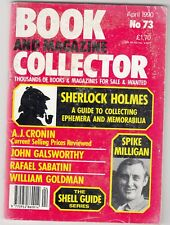 BOOK AND MAGAZINE COLLECTOR  -   No 73 -- APRIL 1990