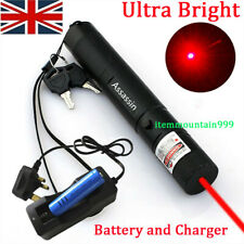 More details for upgraded red laser pointer pen rechargeable lazer 650nm+battery+charger 0.1 mw