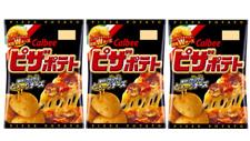 Calbee Pizza Potato chips Japanese Snack 63g ×3pcs
