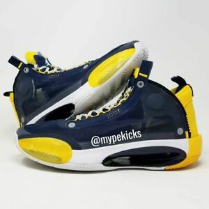 Air Jordan PROMO 34 XXX4 Michigan Wolverines PE Sz 10.5 Shoes Player Exclusives