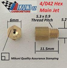 Mikuni Carb 4/042 Large Hex Main Jet for Mikuni VM & TM Carburetors