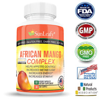 African Mango Complex Extract 1200 MG  Max Strength   Weight Loss Supplement