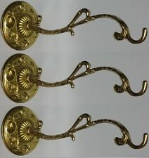 Vigil oil lamp Holder Handmade Wall bracket bronze Lot of 3