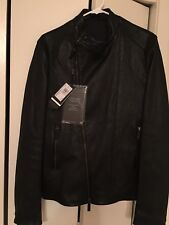 Giorgio Armani Leather Jacket new new 100/100