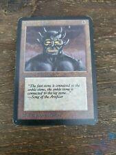 Obsianus Golem Alpha MP Artifact Uncommon MAGIC THE GATHERING Single Card