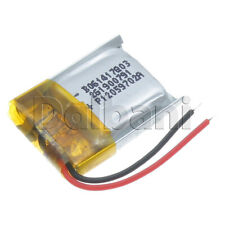 601417, Internal Lithium Polymer Battery 3.7V 60mAh 60x14x17mm