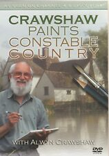 Alwyn Crawshaw Paints Constable Country. 6 Episodes. New DVD