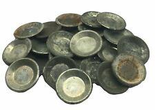 More details for 20 x antique individual baking tart tins 2 5/8