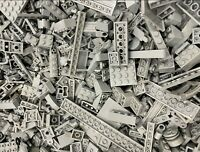 1lb of Assorted Light Bluish Grey Lego Bricks & Parts & Pieces Sold by the Pound