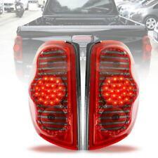 For Mitsubishi L200 Triton ML MN 2005-2014 Tail Rear LED Light Red Smoke Len