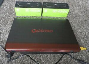Toshiba Qosmio X775 3DV80 3D Laptop Stereoscopic Nvidia With 3D Vision1 Glasses!