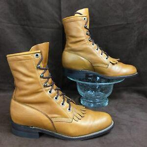 JUSTIN KILTIE 🇺🇸 USA KILTIE ROPER Western Country Cowboy Boot L0621 women 5.5