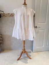 Asos White Oversized Swing Shirt Dress Size UK8-10