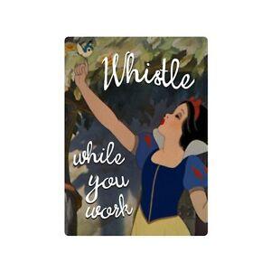 SNOW WHITE Fridge Magnet Top Quality Tin Plate Retro. Disney/Princess/Fairytale