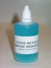 BRUNISSEUR PATINE POUR METAUX 100 ml. Patine brunisseur métaux permet de teint*
