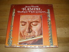 JEAN PIERRE RAMPAL baroque flute concert box LP Record - Sealed