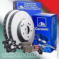 ATE Bremsenset +. Ceramic Beläge Mercedes C-Klasse W204 288mm VORN + Warnkontakt
