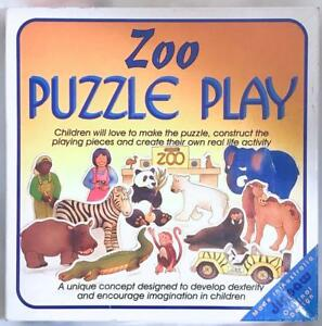 Zoo Animals 3D Puzzle Early Learning Game 23 Slot In Pieces Match Jigsaw Kids