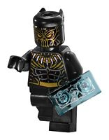 LEGO Killmonger Minifigure 76099 Authentic Super Hero Rhino Face-Off by the Mine