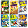 A Bear Grylls Adventure Series Collection 6 Books Blizzard Challenge Earthquake