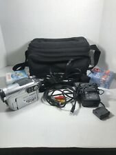 Hitachi Dz-Bx35A Dvd Camcorder w/ Charger, Battery. Power Cords, Bag, Disc