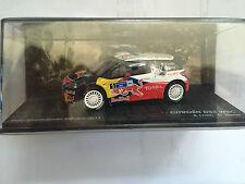 "DIE CAST ""CITROEN DS3 WRC S.LOEN/D.ELENA RALLY GUANAJUATO MEXICO 2011"" 1/43"