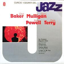 """Chet Baker Mulligan Powell I Giganti Del Jazz vol 8 Italy LP 12""""33rpm vinyl (g-)"""