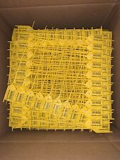 "Pack Of 1000 - Air Security Mpt-Sdto-08"" Load Tags - Yellow"