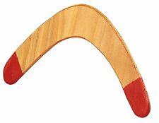 Wood Boomerang With Red Tips 11586 Rothco
