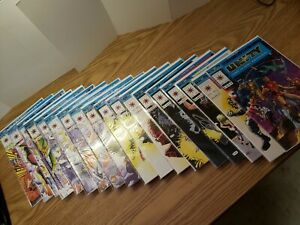 "Valiant UNITY Ch 1-18 Complete Series-""NEW"" NOT READ bagged boarded ""NOT SIGNED"""