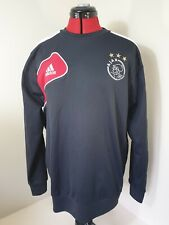 Ultra Rare Retro Adidas Climawarm Ajax Football Club Amsterdam Jumper Medium M