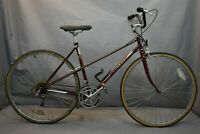 1985 Peugeot Carbolite 103 Mixte Touring Road Bike Small 50cm Steel USA Charity!