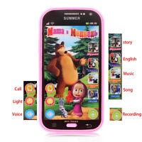 Educational Babys Phone Toys Electronic Learning Russians Language Phone ToysFO