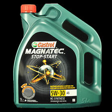 Castrol Magnatec Stop-Start 5W-30 A5 5L - Ford A5, WSS-M2C913-A,B,C,D