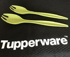 Tupperware Allegra Servers - Set of 2 - Basil - BRAND NEW