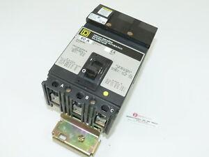 Used Square D FC34060 3p 60a 480v Circuit Breaker 1-yr Warranty