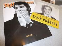 "Rolling Stone - August 2017 - Heft incl. CD & ELVIS PRESLEY 7"" VINYL / ABO Cover"