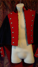 French Napoleonic Artillery Coatee Tunic with Tails Reproduction